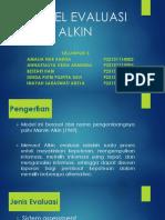 Model Evaluasi Alkin
