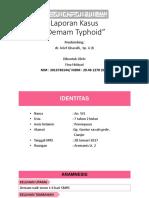 Lapkas Demam Typhoid