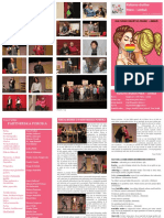 Partnerska poroka, gledališki list, KD Pekre - Limbuš, 2018