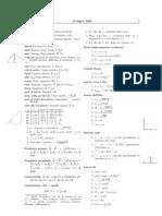 Formula Rio Di Fisica Generale 1