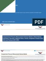 Compartment Pressure Measurement Devices Market
