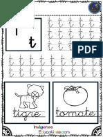 Abecedario Para Practicar La Grafomotricidad PDF 21 27