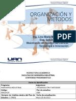 Organización y Metodos