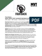 Fightback Press Release 2018