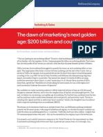 Marketing Golden Age