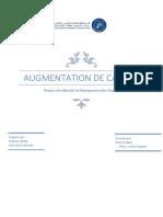 Agmentation Du Capital