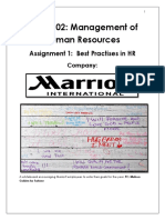 Assignment 1_Best Practises in HR