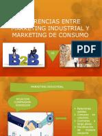 Diferencias Entre Marketin Industrial y Marketing de Consumo