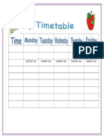 My Timetable Classroom