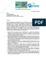 Carta CCEFIRO Foro Salud Luis Lazo