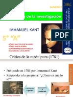 Immanuel Kant Metodologia