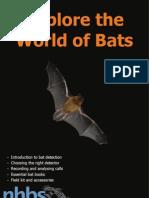 NHBS   Explore the World of Bats