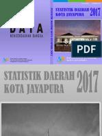 Statistik Daerah Kota Jayapura 2017