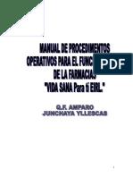 Manual Farmacia Vida Sana