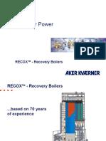 Apresentação Caldeiras de Recuperação Kvaerner (1)