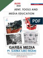 Katalog Tools&Media Belajar TSM 2018 & Bahan Mapel Peralatan
