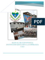 Manual de Convivencia 2018 Ie La Esperanza