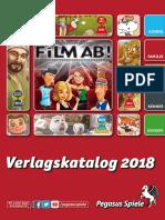 Pegasus Verlagskatalog 2018