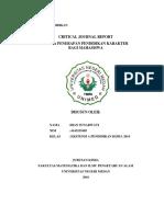 Critical Journal Report Filsafat