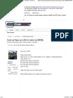 Cum Se Face Un LOG in Mers La DIESEL Club Audi Romania - Forum Cu Discutii Despre Modelele Audi