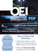 Public Private Partnership presentation