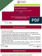 Regulación Financiera Del Mercado de Capitales. Ley Del Mercado de Valores.