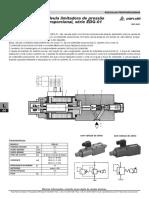 Valvulas Limitadora de Pressao Proporcional Serie EDG 01