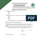 Form Persetujuan Rujukan
