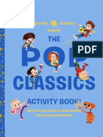 Pop Classics Activity Book