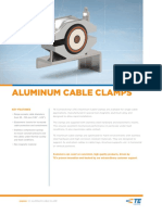 TE Aluminum Cable Clamp Datasheet