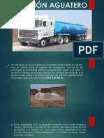 Camion Aguatero