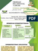 5 Inferencias Superestructurales. Chulde, González, Játiva y Pusdá