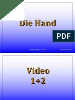 Didaktika 6 Die Hand