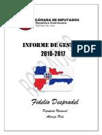 Segundo Borrador Informe Gestion 2016-2017