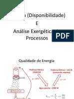 7-) Análise Exergética