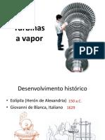10-) Turbinas a Vapor