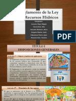 PPT Reglamento de La Ley de RRHH