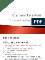 Grammar Es Sent a Ls