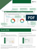 0081 Excel 2016 Guia de Inicio Rapido