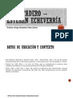 El Matadero – Esteban Echeverría
