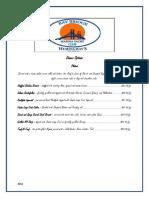 Banquet - Dinner Options 2014.docx