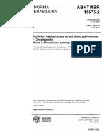 NBR 15575-2 - Requisitos para os sistemas estruturais.pdf