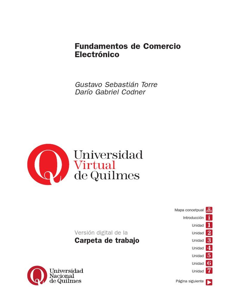Libro fundamentos comercio electronico fandeluxe Choice Image