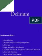 16.Delirium