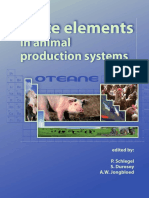 Trace Elements in Animal Production System(2008)
