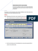 65208654 88336 Accounting Process for PETTY CASH in Oracle
