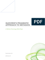 White Paper- QlikView's Pragmatic Approach to Metadata