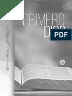 JOB 22885-17 Sermón Primero Dios