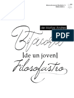 Bitacora de Un Jóven Filosofastro, Matias Andres - Copy