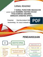 journal reading PDPH